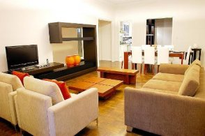Luxury furnished 3 bedroom apartment for long term in the heart of Recoleta