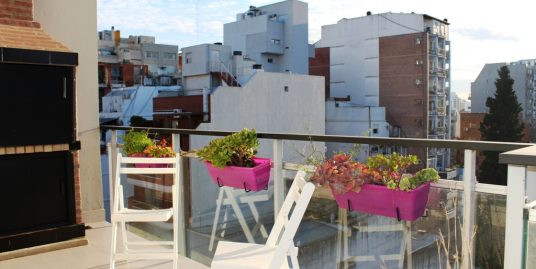 Apartment double private terrace in Nuñez Belgrano 2 bedroom