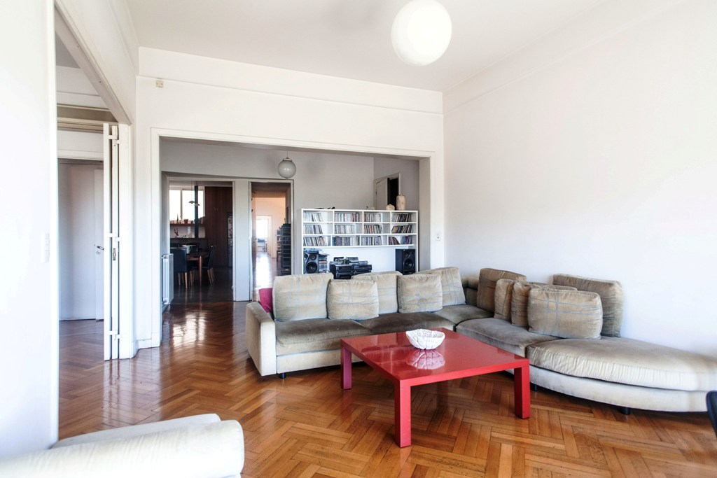 Large 3 bedroom floor for sale in Palermo with River-views over Jardin Botanico