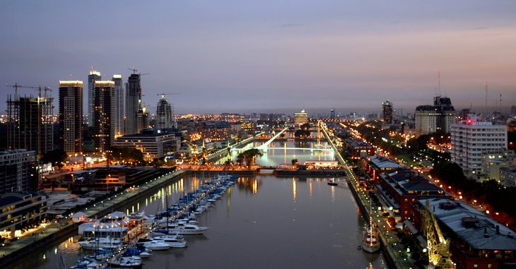 Puerto Madero Modern Lifestyle Around The Old Docks Quality Homes Buenos Aires